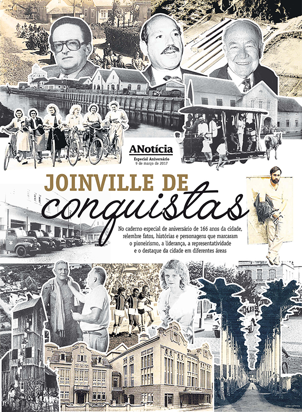Joinville 164 anos